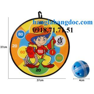 Bộ đồ chơi trẻ em ném bóng gai phi tiêu cỡ lớn (37cm) vui nhộn