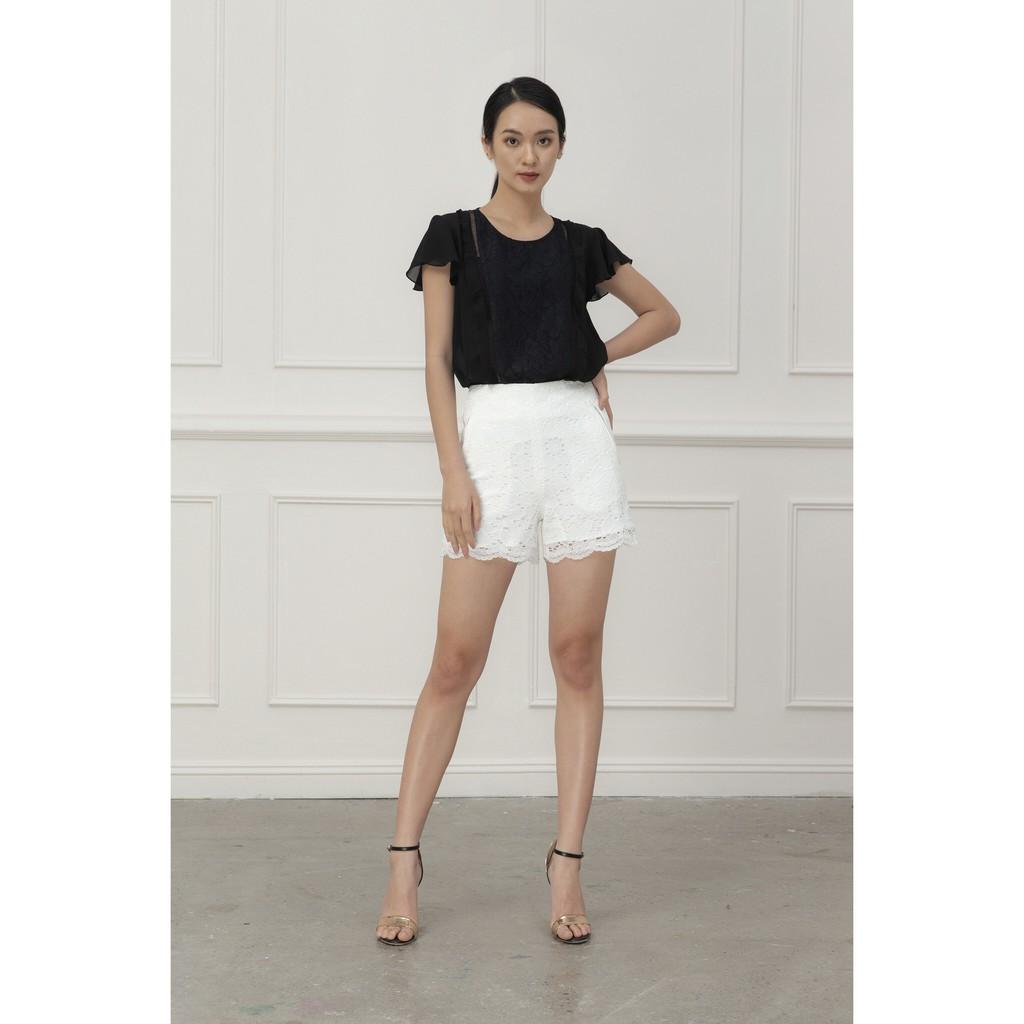 Ivy moda Quần short ren MS 20B7897