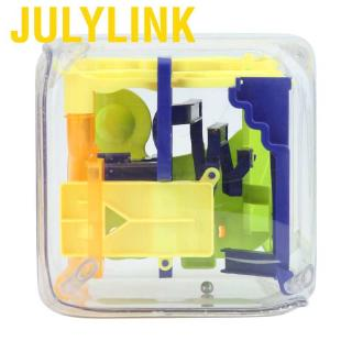 Julylink 3D puzzle maze game square labyrinth ball toy teasers brain with precision designed intelligence levels fo