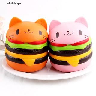 Đô ̀ chơi bo ́ p Squishy hi ̀ nh Hamburger xinh xă ́ n