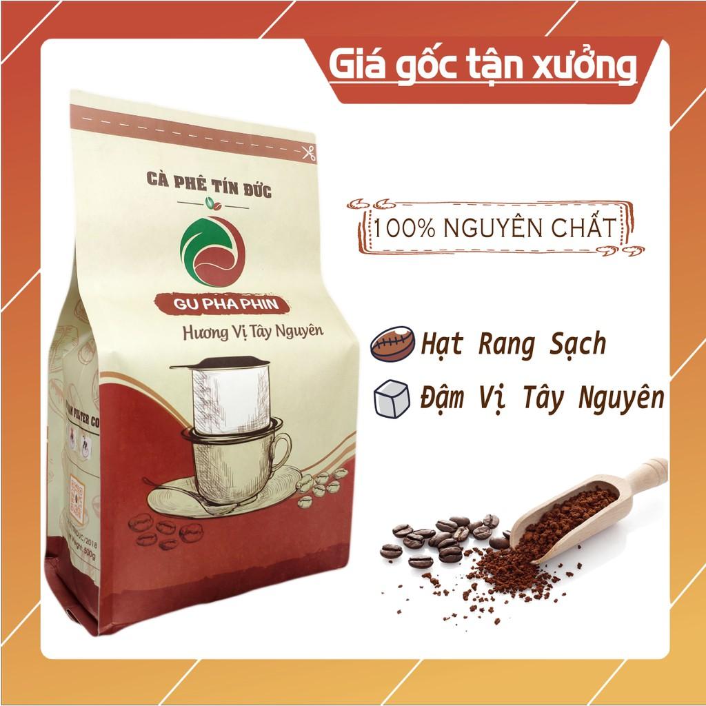 Cà Phê Bột Pleiku ☕️ Gu Pha Phin Đậm Đà ⭐️ 500gr Cafe Tín Đức