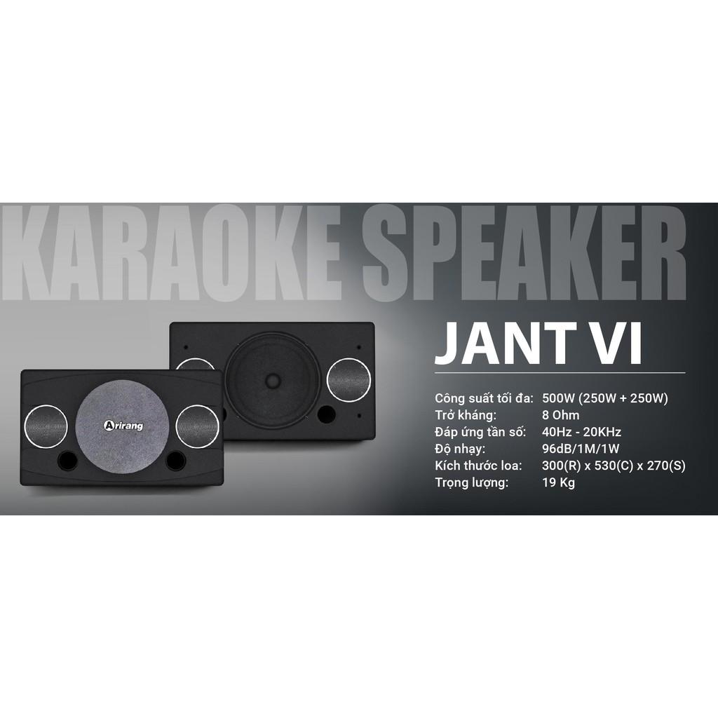 Loa JANT-VI - Loa chuyên dùng hát Karaoke và nghe nhạc chính hãng ARIRANG
