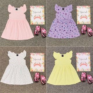 Váy đầm bé gái cotton
