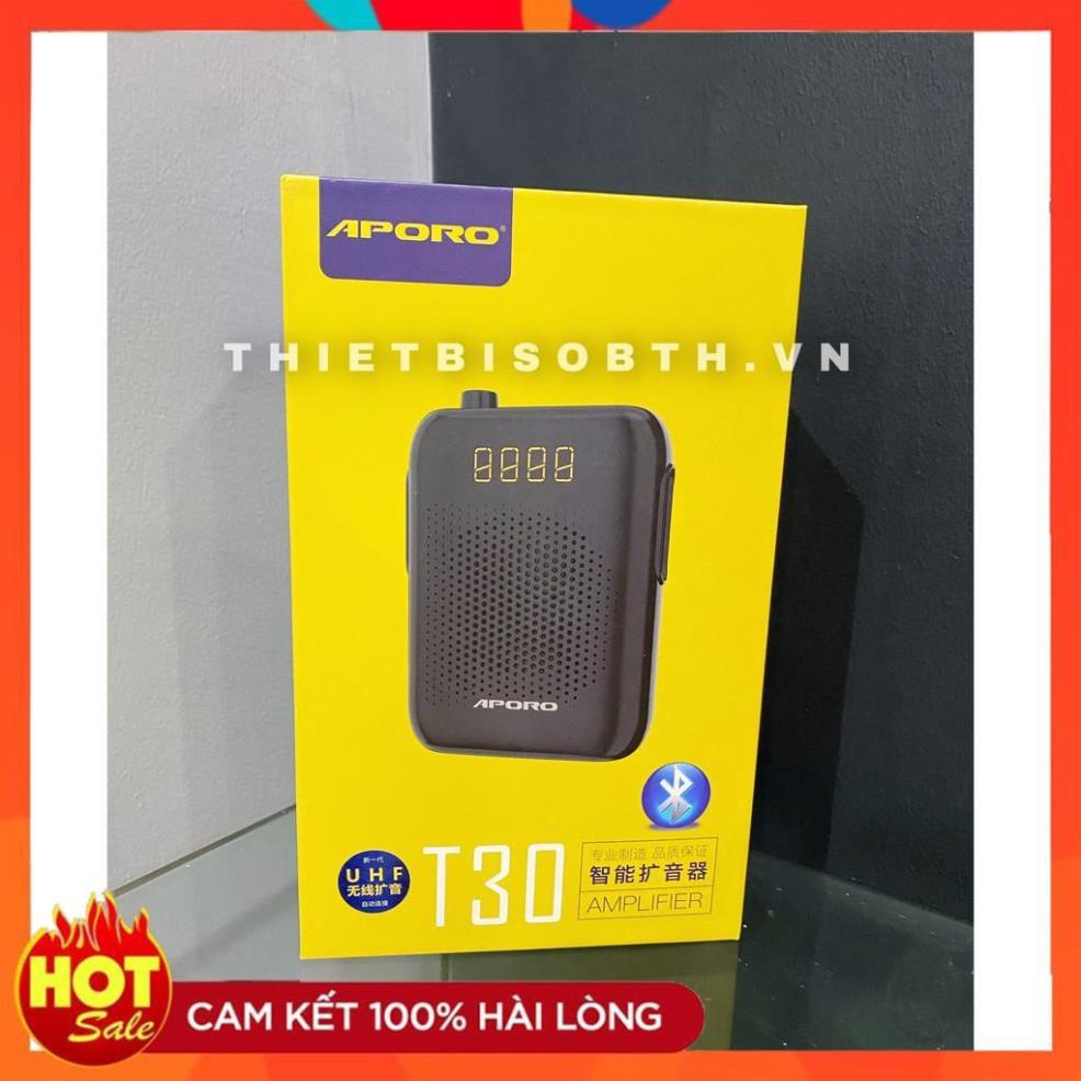 [Hàng Xịn] Loa trợ giảng không dây APORO T30 UHF Kết nối Bluetooth, USB