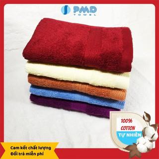 Khăn mặt cao cấp PMD 30x50 cotton 100% mềm mại - siêu thấm hút - kháng khuẩn - an toàn tuyệt đối cho da thumbnail