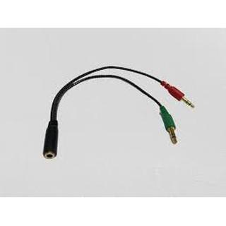 Dây Cáp chuyển 2 đầu 3.5 audio và Micro ra 1 đầu 3.5 cho PC laptop-C23