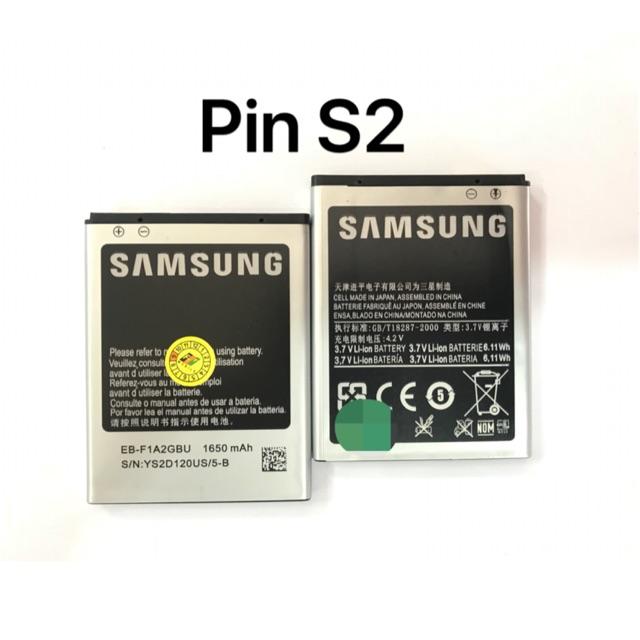 Pin samsung S2(1650mAh) zin-mới 100%. Cửa hàng Trần Huỳnh chuyễn cung cấp LKĐT sỉ và lẻ :581a nguyễn kiệm, p9, phú nhuận - 14445446 , 1656622159 , 322_1656622159 , 100000 , Pin-samsung-S21650mAh-zin-moi-100Phan-Tram.-Cua-hang-Tran-Huynh-chuyen-cung-cap-LKDT-si-va-le-581a-nguyen-kiem-p9-phu-nhuan-322_1656622159 , shopee.vn , Pin samsung S2(1650mAh) zin-mới 100%. Cửa hàng