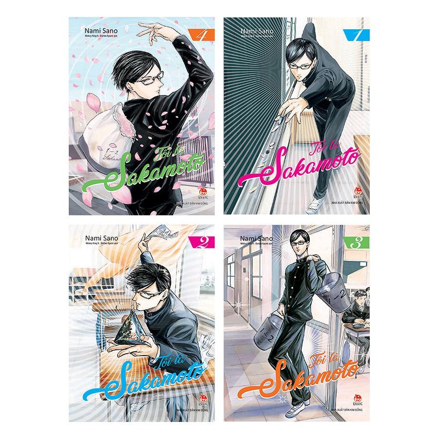 Sách - Truyện Tranh - Boxset Tôi Là Sakamoto (Trọn Bộ 4 Tập)