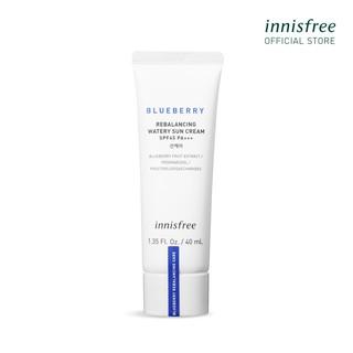 Kem chống nắng vật lý innisfree Blueberry Rebalancing Watery Sun Cream Spf45 Pa+++ 40ml thumbnail