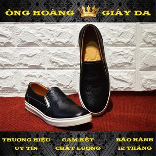 Giày lười nam Da Bò KOS08