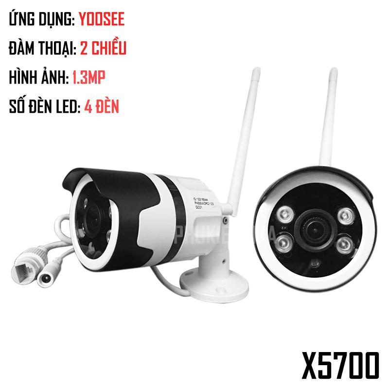 Camera IP Yoosee X5700 ngoài trời chống nước (Hồng Ngoại ban đêm siêu nét) kèm thẻ nhớ 32GB - 3097813 , 1149539966 , 322_1149539966 , 690000 , Camera-IP-Yoosee-X5700-ngoai-troi-chong-nuoc-Hong-Ngoai-ban-dem-sieu-net-kem-the-nho-32GB-322_1149539966 , shopee.vn , Camera IP Yoosee X5700 ngoài trời chống nước (Hồng Ngoại ban đêm siêu nét) kèm thẻ