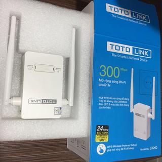Bộ Mở Rộng Sóng Wifi Totolink EX200 Chuẩn N Tốc Độ 300Mbps – Hãng phân phối chính thức