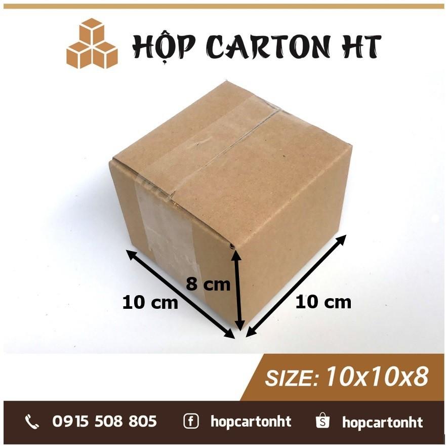 10x10x8 Hộp carton, thùng bìa giấy cod đóng gói