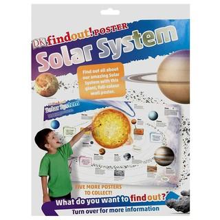 sách DKfindout Solar System Poster thumbnail