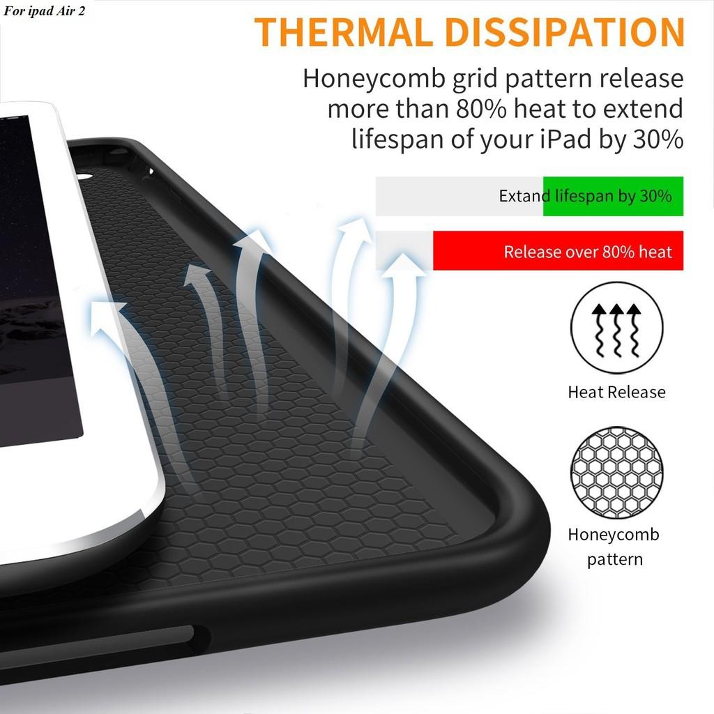 Bao da cao cấp Silicone dẻo dành cho iPad Air 2 - H_Shop_VN