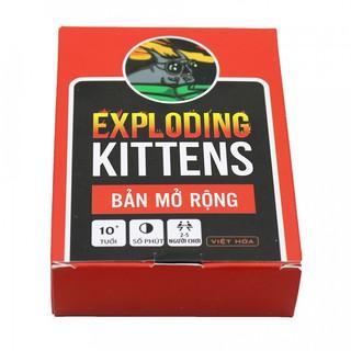 Combo Mèo Nổ Exploding Kittens 4 Bản Mở Rộng bản mới
