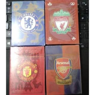 Bộ bài tây tú lơ khơ hình clb bóng đá arsenal Chelsea Liverpool Manchester united