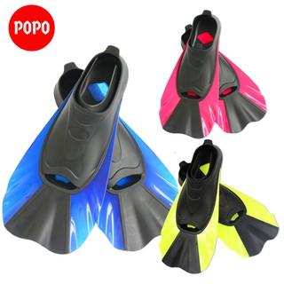 Chân vịt lặn biển chân nhái lặn biển POPO Collection chất liệu silicone ôm chân thoải mái vận động