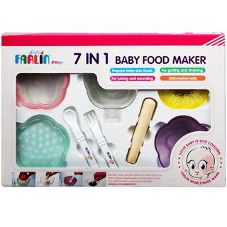[Sỉ_lẻ] Bộ dụng cụ chế biến thức ăn 7 trong 1 Farlin PER-245