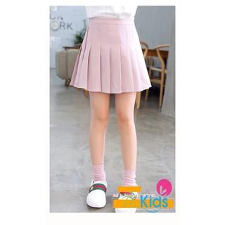 Chân váy kaki xếp ly cao cấp bé gái