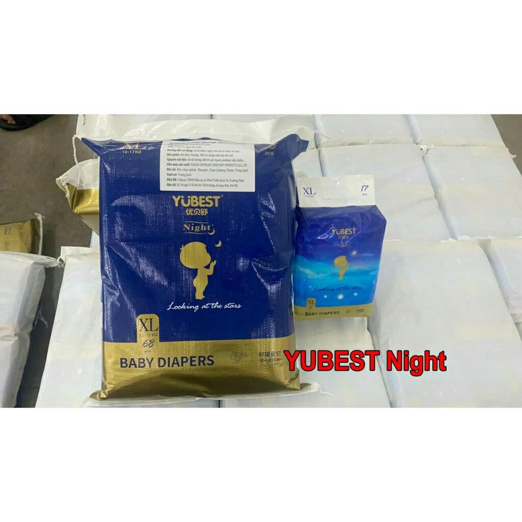 Bỉm Yubest Natural/ Angel/ Gold dán/ quần nội địa S132/M108/L96/XL84/XXL72/S90