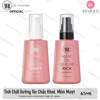 Tinh chất dưỡng tóc chắc khoẻ, bóng mượt Wonder Bath Grapefruit Hair Oil Serum 65ml