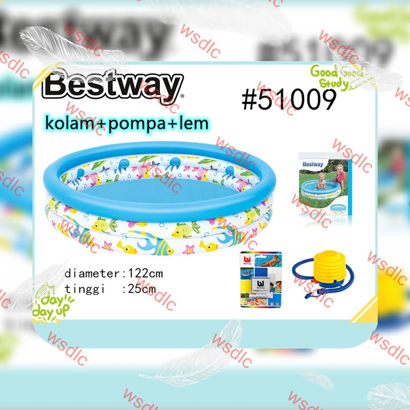 Hồ Bơi Trẻ Em Bestway 51008 51009