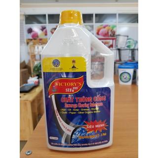 Chất thông tắc bồn cầu siêu tốc 1400ml - dung dịch tẩy rửa - dung dịch vệ sinh thumbnail