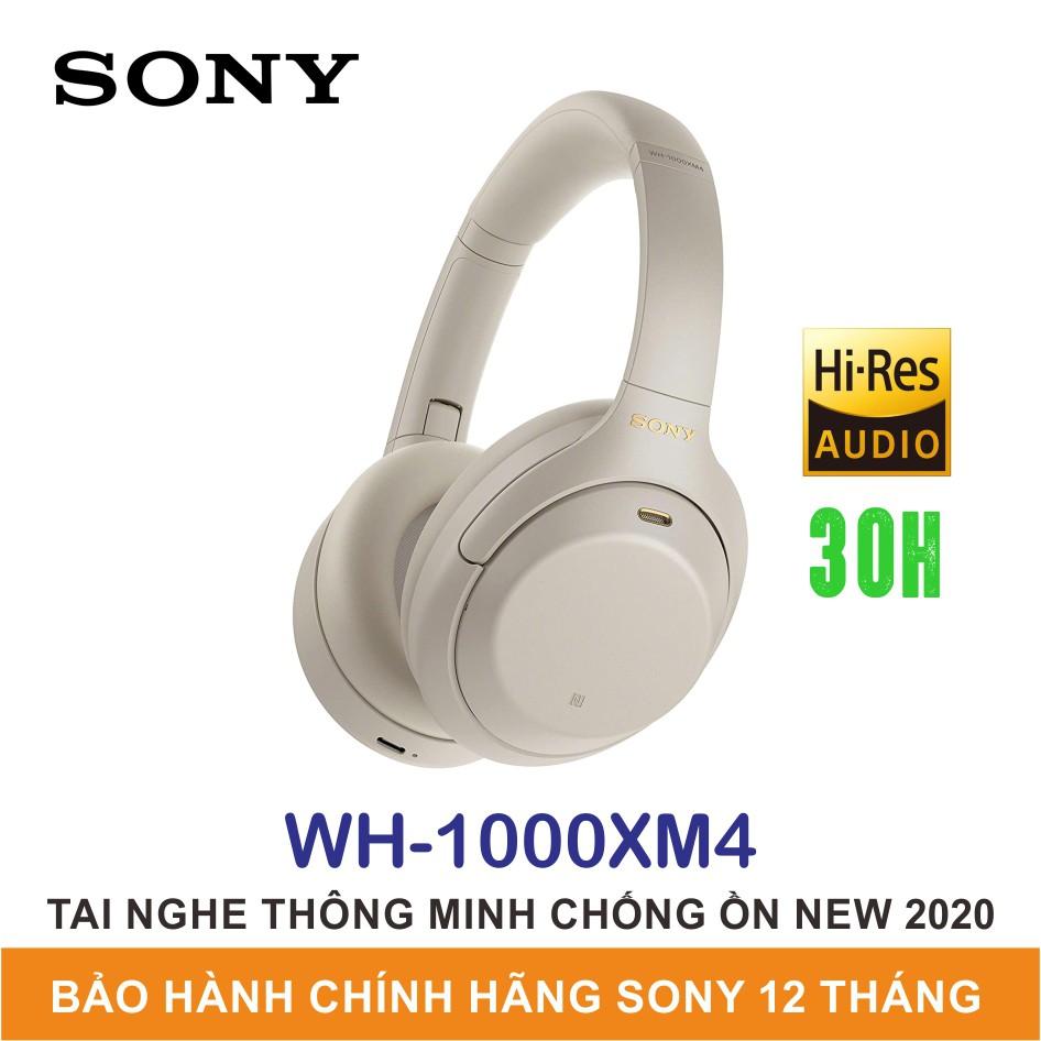 Tai Nghe Chụp Tai Chống Ồn Sony WH-1000XM4 | Chính Hãng Sony Việt Nam | Bảo Hành 12 Tháng