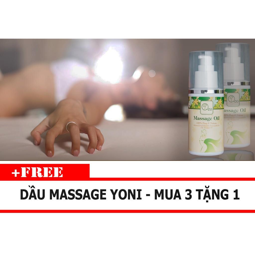 Tinh dầu massage Body, Yoni - 100% tinh dầu thiên nhiên