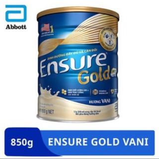 Sữa Ensure gold 850g hương vani date mới 2022