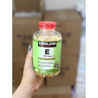 [HÀNG MỸ] Vitamin E 400 Iu 500 Viên Kirkland Của Mỹ - Đẹp Da, Làm Chậm Lão Hóa thumbnail