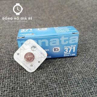 [ẢNH THẬT] Pin đồng hồ 371 - SR920SW RENATA vỉ 1 viên thumbnail
