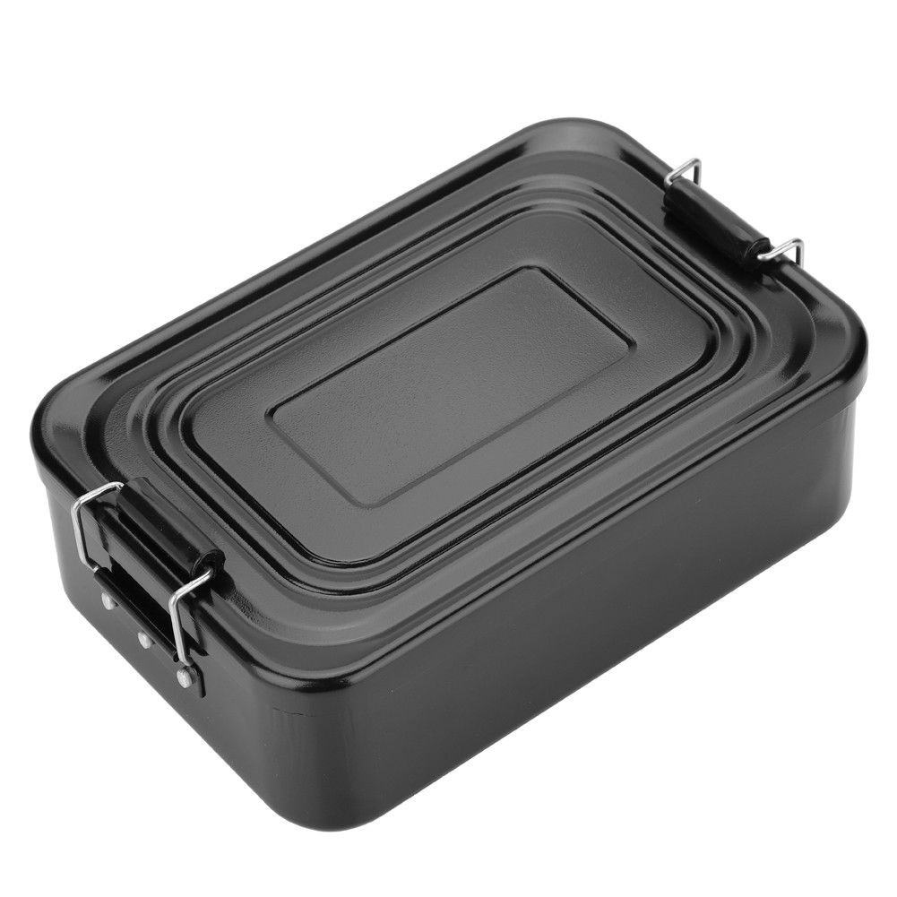↨COD↨ Cing PicnicAluminum Food FruitLunch Box Container