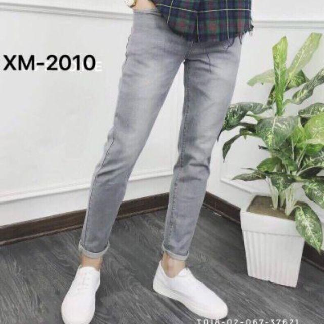 Quần jean nam đẹp quần jeans Nam thời trang mẫu trơn hàng chuẩn shop 2010 ( có size đại 33-34) Quần Jean