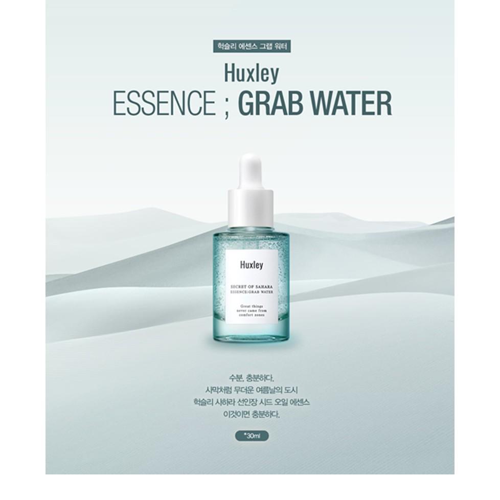 Tinh chất dưỡng ẩm Huxley Essence Grab Water 30ml fullbox - 2445440 , 1324685895 , 322_1324685895 , 650000 , Tinh-chat-duong-am-Huxley-Essence-Grab-Water-30ml-fullbox-322_1324685895 , shopee.vn , Tinh chất dưỡng ẩm Huxley Essence Grab Water 30ml fullbox
