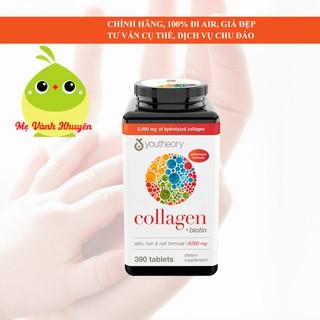 Hỗ trợ đẹp da, móng, tóc Youtheory Collagen + Biotin, Mỹ (390v) thumbnail
