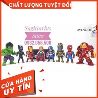 [HOT]Mô hình siêu anh hùng Avengers _ Bộ 8 con-Hàng Có Sẵn