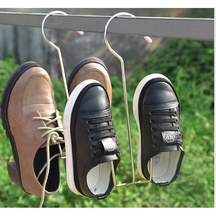 (FS+HoànXu)Móc Phơi Giày Dép Inox (HSN)