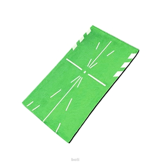 Practical Green Portable Outdoor Sports Batting Tracking For Swing Detection Golf Training Mat