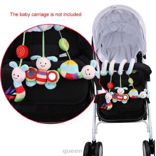 Activity Cute Animal Decoration Early Education Hanging Stroller Wrap Around Music Baby Crib Toy