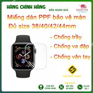 Miếng dán PPF chống xước màn hình Apple Watch Series 1/2/3/4/5/6/SE size 38/40/42/44mm
