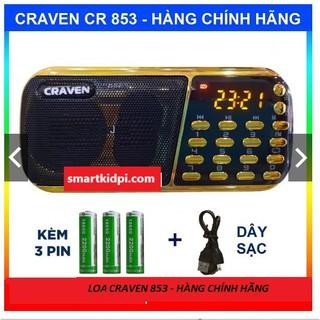 [Mã SR14MAY5 giảm 20K đơn 50K] Loa Craven 3 Pin siêu khỏe, nghe tiếng Anh, Phật pháp, đài FM, thẻ nhớ