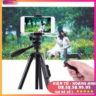 Chân Máy Ảnh Tripod Yungteng 3388+5208 Giá Đỡ Bluetooth Cao Cấp Chuyên Dùng Cho Điện Thoại Camera Model 2020