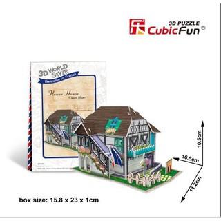 Bộ nhà truyền thống Pháp – Flower House Flavor – W3120h