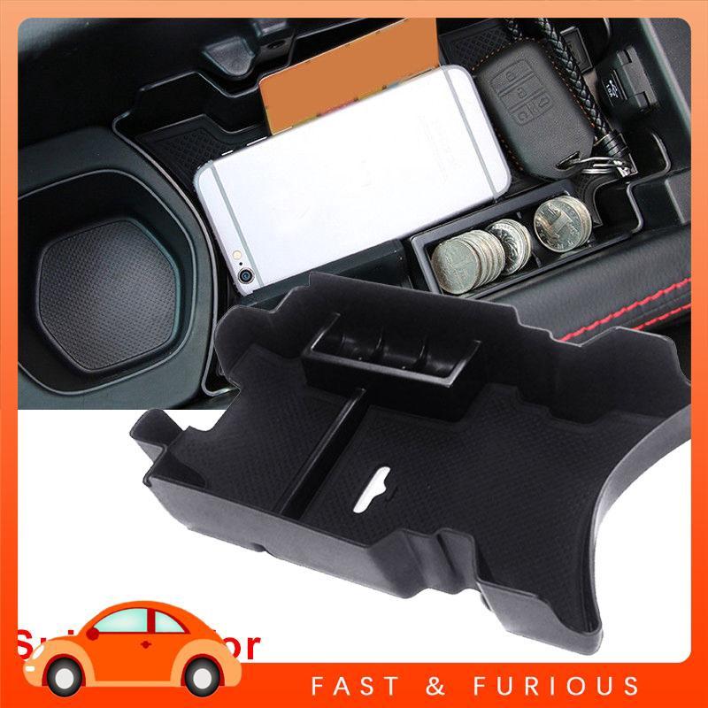 UU Honda Civic 10th Car Armrest Storage Box Auto Armrest Storage Box High Capacity Black Coin Case Card Slot Cup Holder