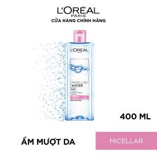 Hình ảnh Nước tẩy trang cho mọi loại da L'Oreal Paris 3-in-1 Micellar Water 400ml-4