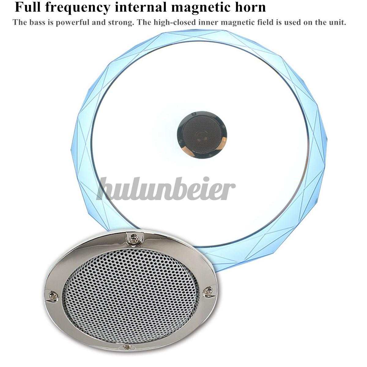 Đèn Led Gắn Trần Nhà Có Kết Nối Bluetooth 40cm 24w