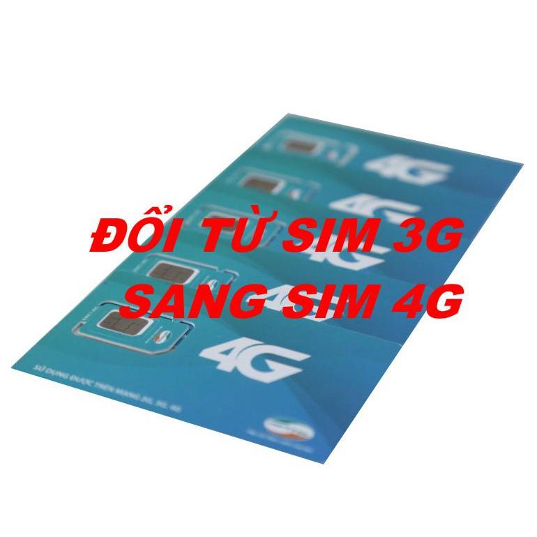 Sim 4G Viettel Tự Đổi (3G Sang 4G)