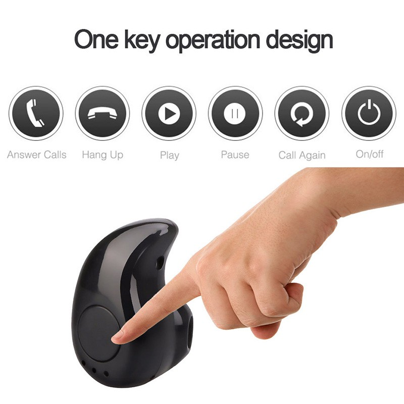 Tai nghe Bluetooth mini S530 in-ear V4.1 micro earbuds có nhạc
